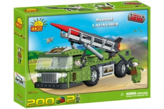 COBI Small Army - Mobile Launcher