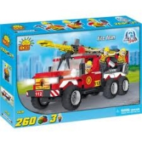 Cobi Action Town Fire Team Fire Truck,