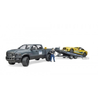 Bruder RAM 2500 Power Wagon ja Roadster Racing team ajoneuvo
